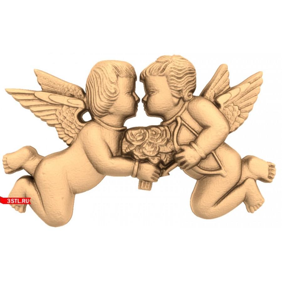 Ангел #23 | STL - 3D модель для ЧПУ