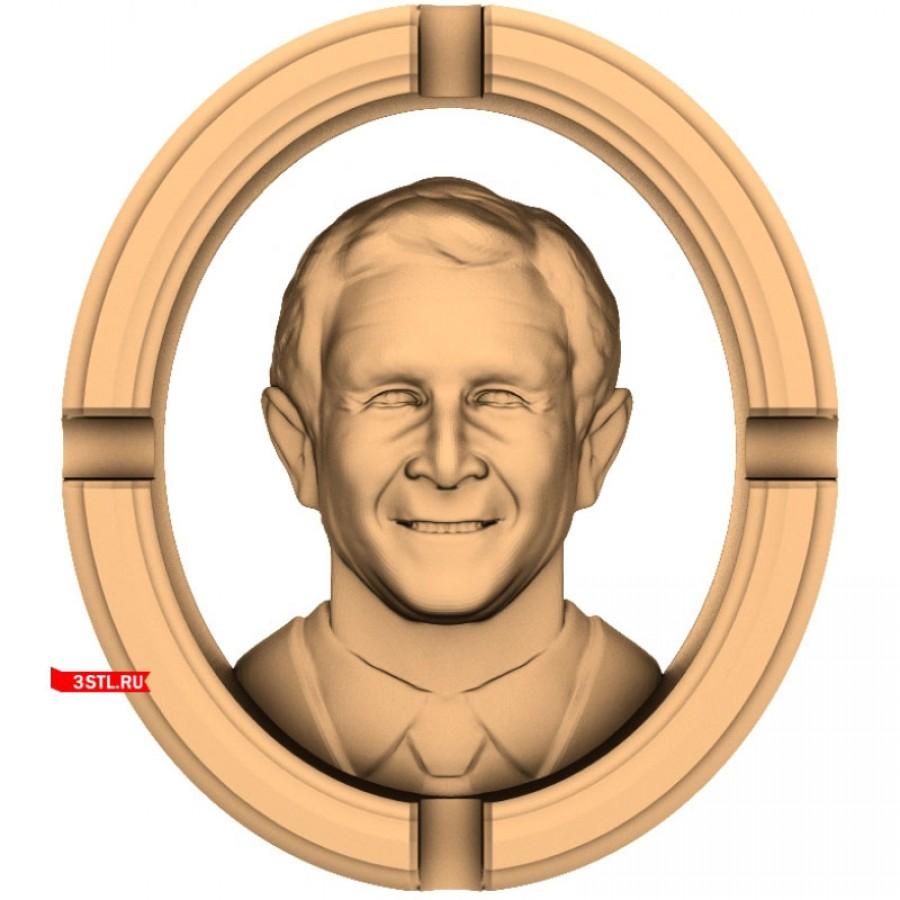 Буш | STL - 3D модель для ЧПУ