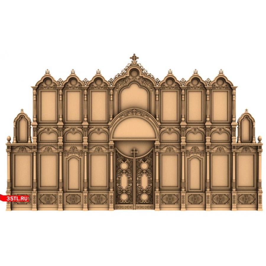 Иконостас #5 | STL - 3D модель для ЧПУ