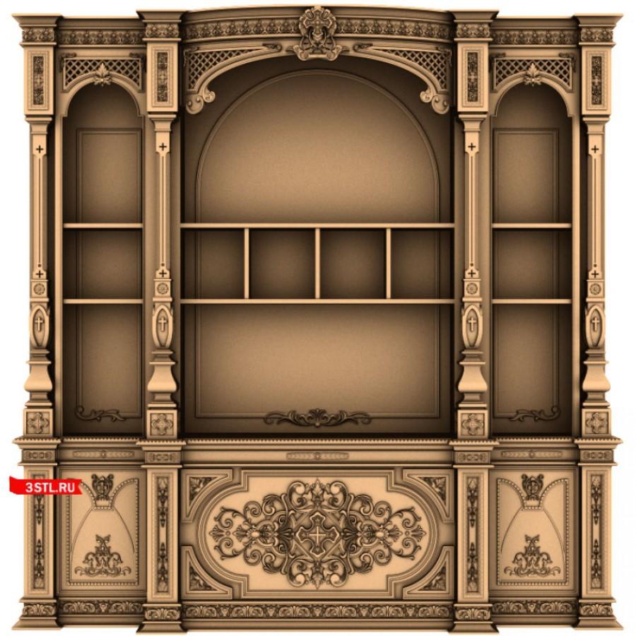 Иконостас #6 | STL - 3D модель для ЧПУ