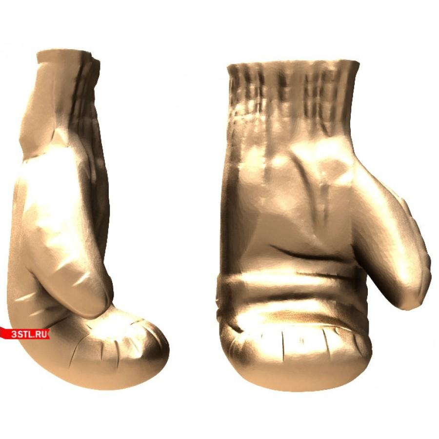 Перчатки   STL - 3D модель для ЧПУ