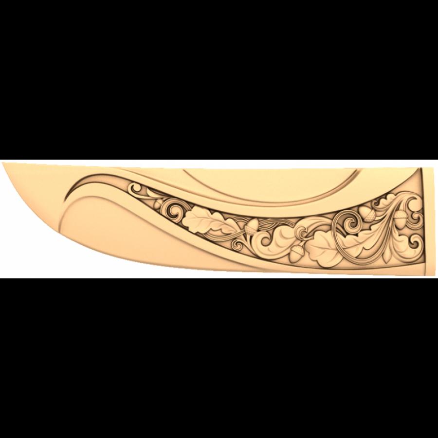 Рукоятка #12 | STL - 3D модель для ЧПУ