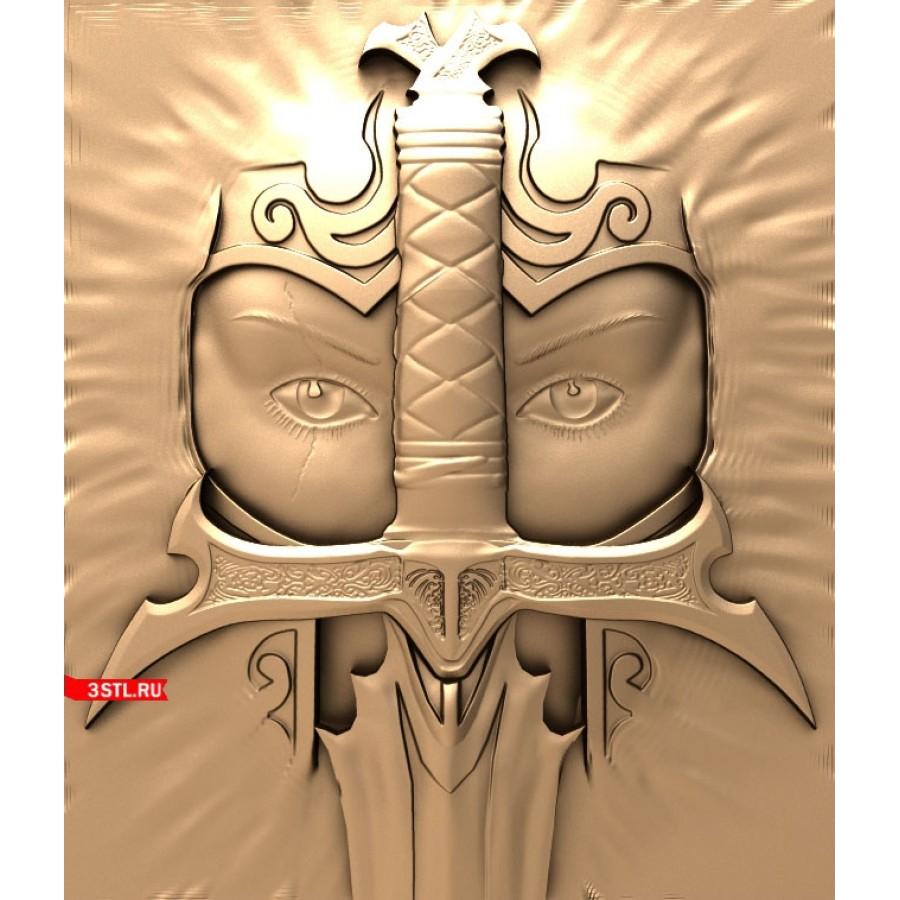 Рыцарь | STL - 3D модель для ЧПУ